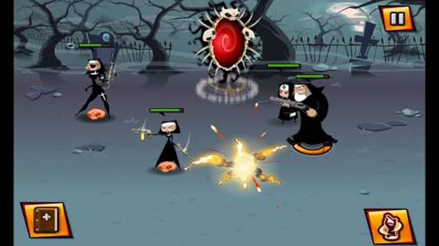 Nun Attack Tips
