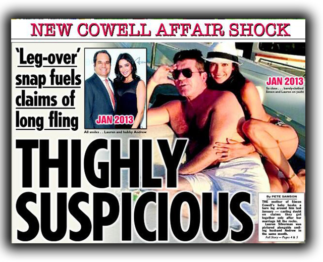 Andrew Silverman, Lauren Silverman, Simon Cowell, Affair, Marriage, Cheating, Scandal, X Factor, Divorce, Statement