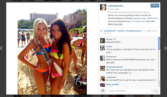 Cassidy Wolf Miss Teen USA Hacker Hacked Webcam