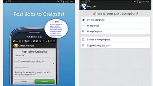 top best android apps proven craigslist hiring