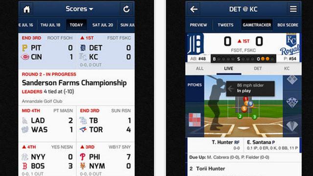 top ios app updates cbs sports