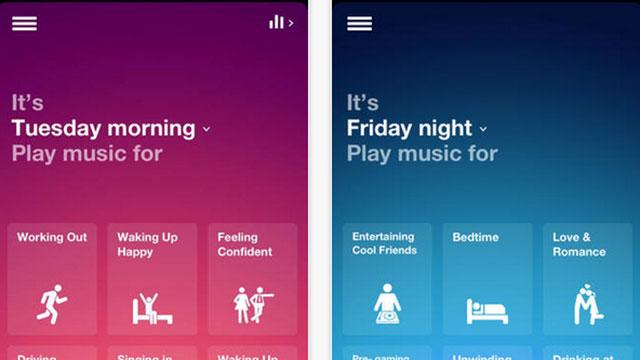 top ios app updates songza