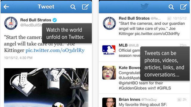 top ios app updates twitter