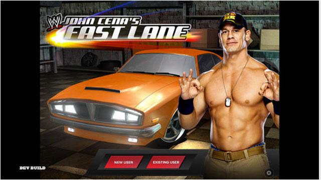 top new iphone games wwe john cenas fast lane
