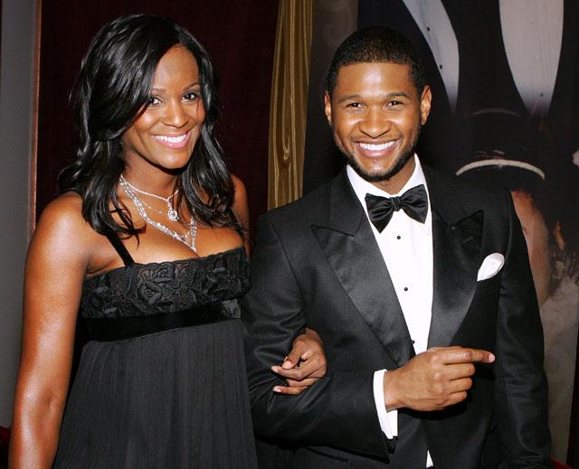 Tameka and Usher