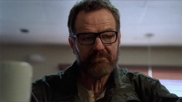 walter white with a beard