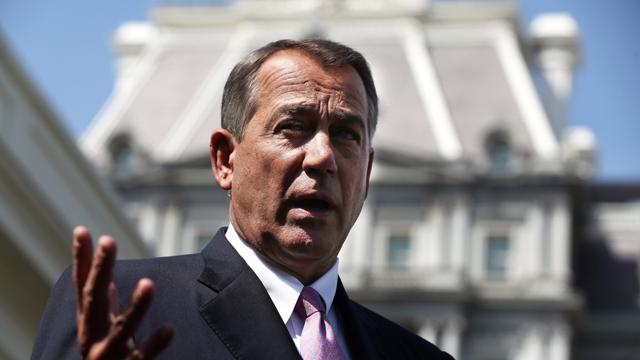 speaker of the house john boehner, boehner supports attack on syria