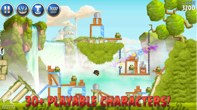 angry birds star wars II android app