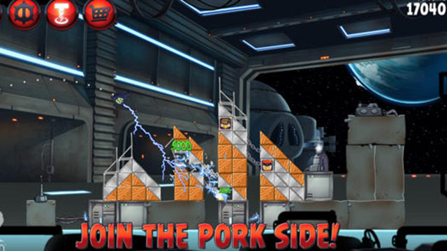 angry birds star wars ii iphone 5s app