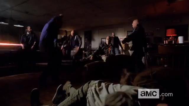 aryan brotherhood, breaking bad, finale scene