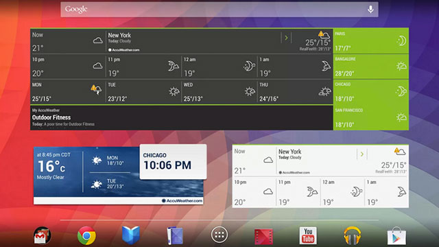best samsung galaxy s4 apps accuweather