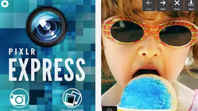 best samsung galaxy s4 apps pixlr express