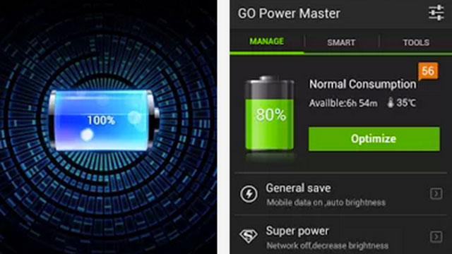 best widget for android go battery saver and power widget