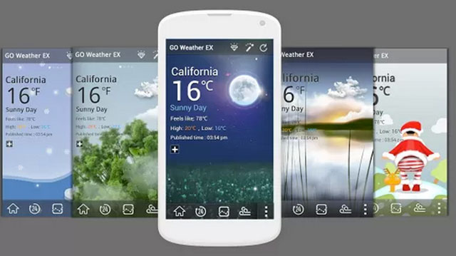 best widgets for android go weather forecast and widgets