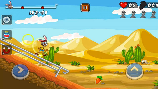 bunny skater android app
