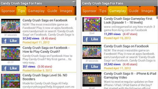 candy crush saga for fans android app