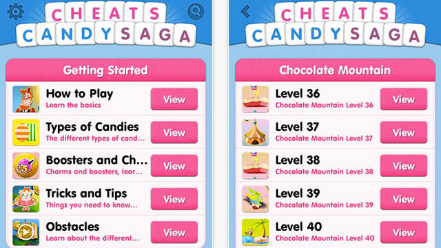 cheats candy crush edition iphone app