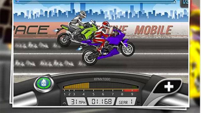 drag racing bike edition android app