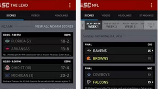 espn scorecenter android app