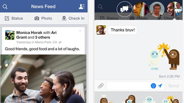 facebook iphone 5s app