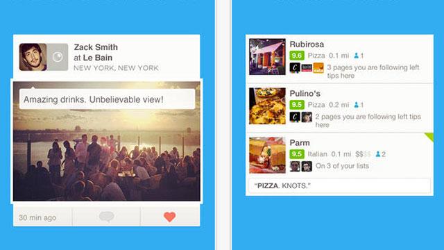 foursquare iphone 5s app