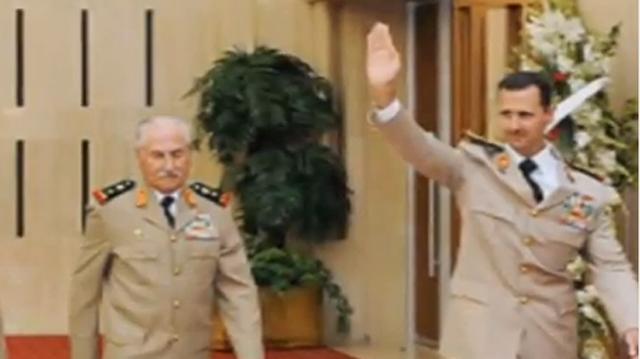 General ali Habib mahmud defects