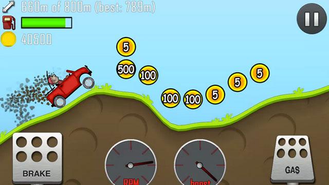 hill climb racing android app