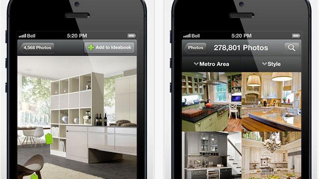 houzz iphone app