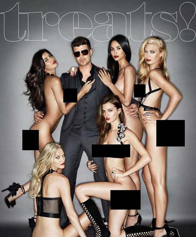 Robin Thicke Naked Women Magazine Cover, Robin Thicke Nude Models, Robin Thicke Naked Models, Robin Thicke Paula Patton Reaction, Robin Thicke Paula Patton, What Does Paula Patton Think, Robin Thicke Naked Women Photo Girls, Robin Thicke 5 Naked Girls Photo, Robin Thicke Blurred Lines Naked
