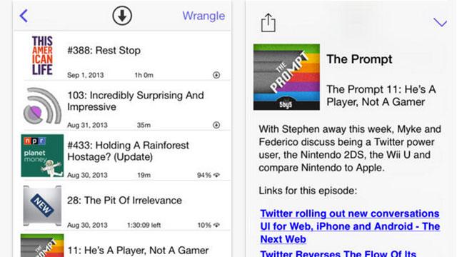 pod wrangler iphone app