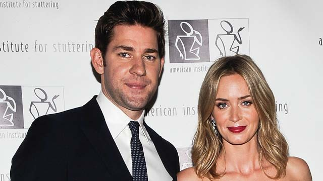 Emily Blunt Pregnant Expecting First Child, Emily Blunt John Krasinski Expecting Baby, Emily Blunt Having a Baby John Krasinski, Emily Blunt John Krasinski Buy New House