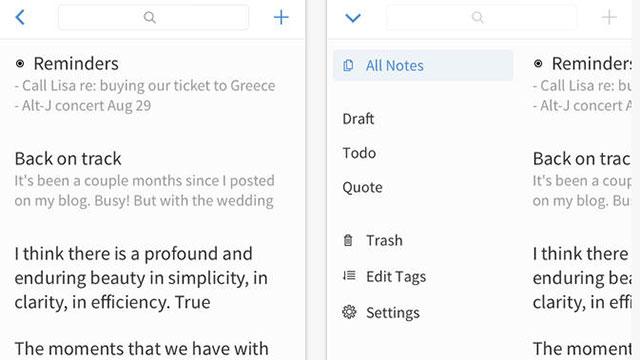 simplenote iphone 5s app