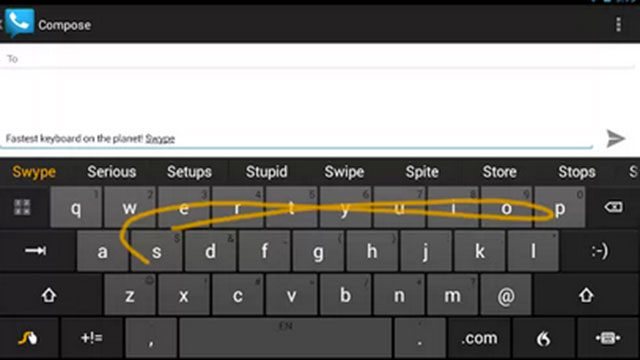 swype keyboard android app