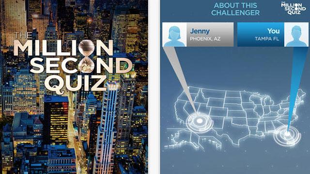 the million second quiz iphone app