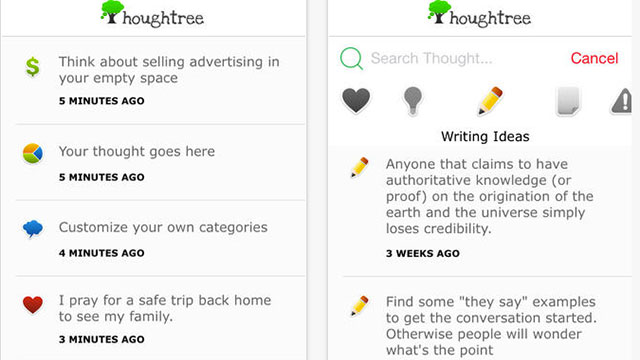 thoughtree iphone app