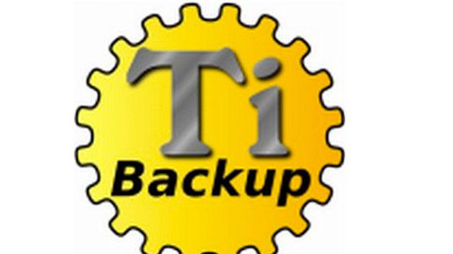 titanium backup prokey root android app