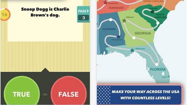 true or false us edition iphone app