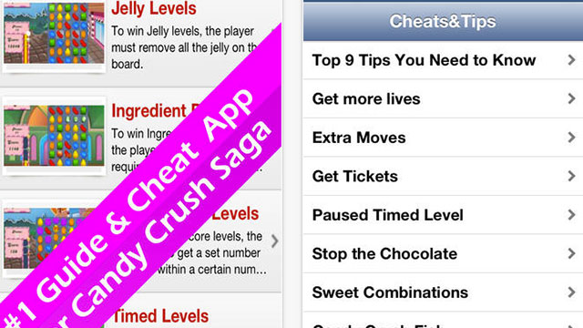unofficial guide for candy crush saga iphone app