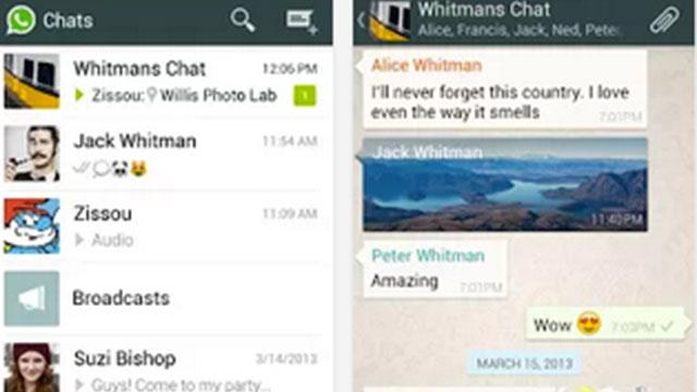 whatsapp messenger android app