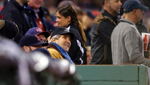 John Kerry 2013 World Series Game 6 St. Louis Cardinals Boston Red Sox Fenway Gifs Tweets Videos Pics Photos