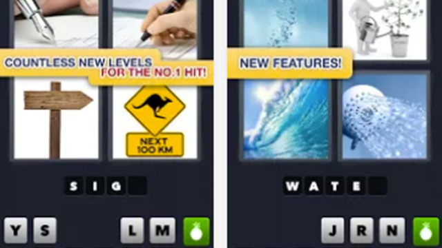 4 pics 1 word android app