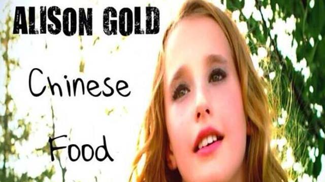Alison Gold Chinese Food Video, Alison Gold Next Rebecca Black, Alison Gold Song Youtube, Alison Gold Likes Chinese Food