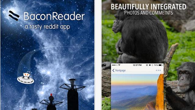 baconreader for reddit iphone app