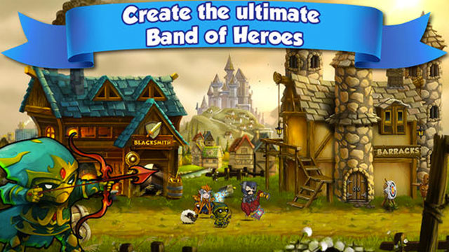 band of heroes battle for kingdoms iphone app