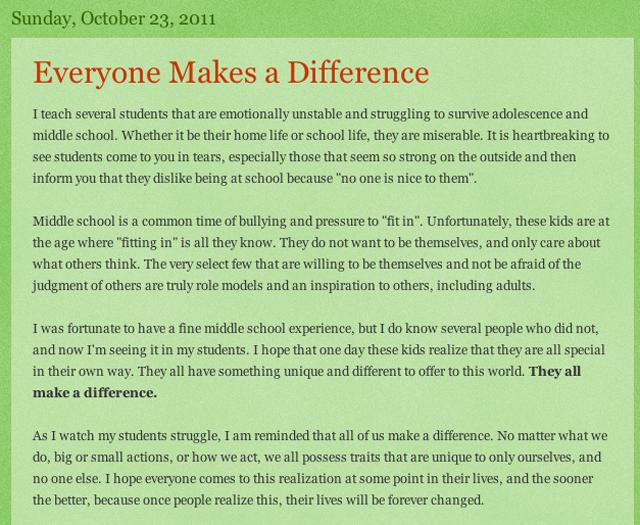 colleen ritzer blog