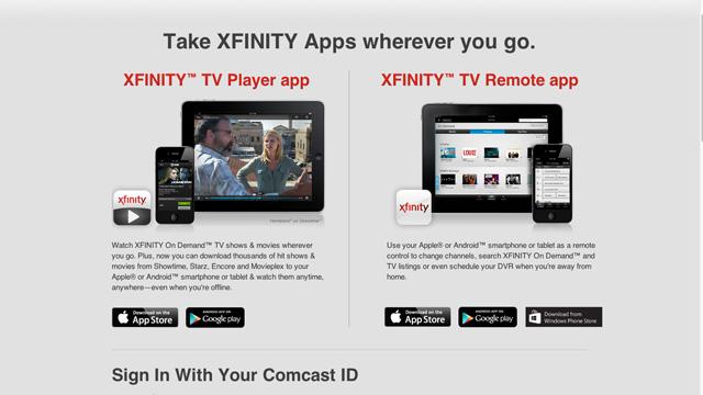 comcast-xfinity-go-app-updates