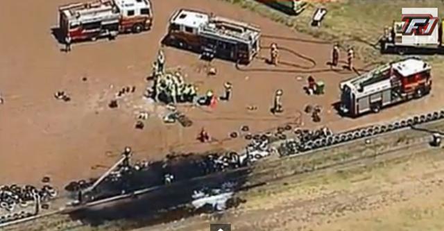 scene of the crash site where sean edwards died