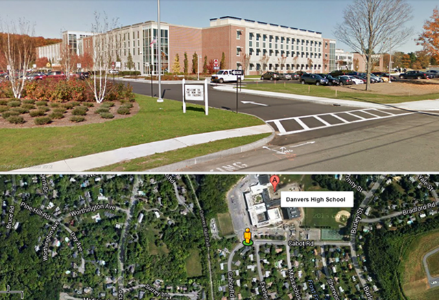 Danvers High School. (Google Maps)