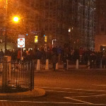 Cops pushing people out of Fenway area, some coming down to K... on Twitpic