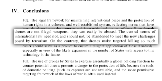 united nations drones